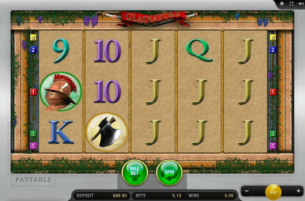 GLADIATORS MERKUR CASINO SLOTS