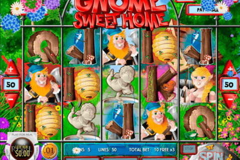 gnome sweet home rival casino slots 480x320