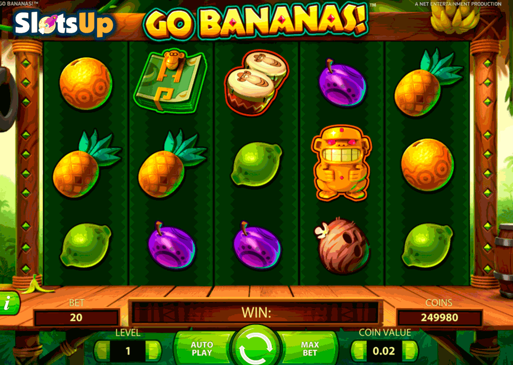 Go Bananas Slot Machine Online ᐈ NetEnt™ Casino Slots