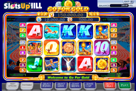 go for gold ash gaming casino slots