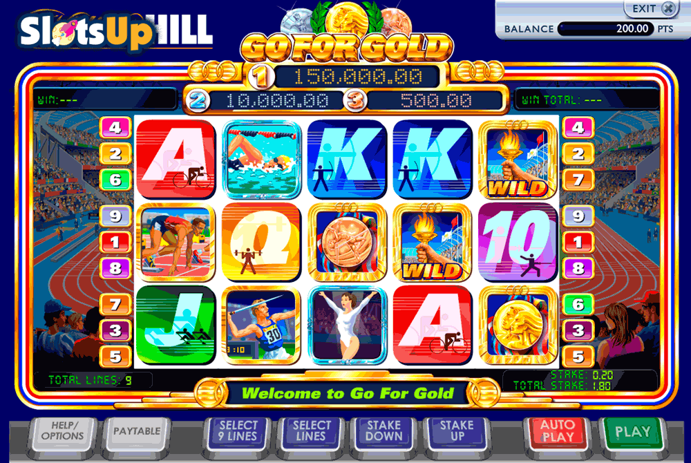 Go for Gold Slot™ Slot Machine Game to Play Free in WGSs Online Casinos