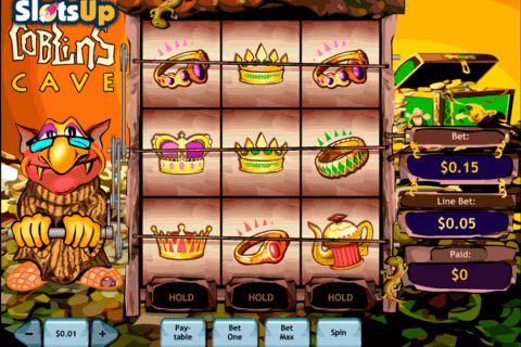 GOBLINS CAVE PLAYTECH CASINO SLOTS