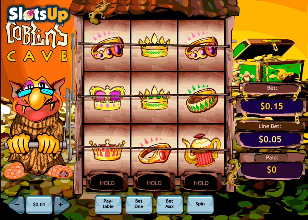 Goblins Cave Slots - Play Playtech Slots for Free