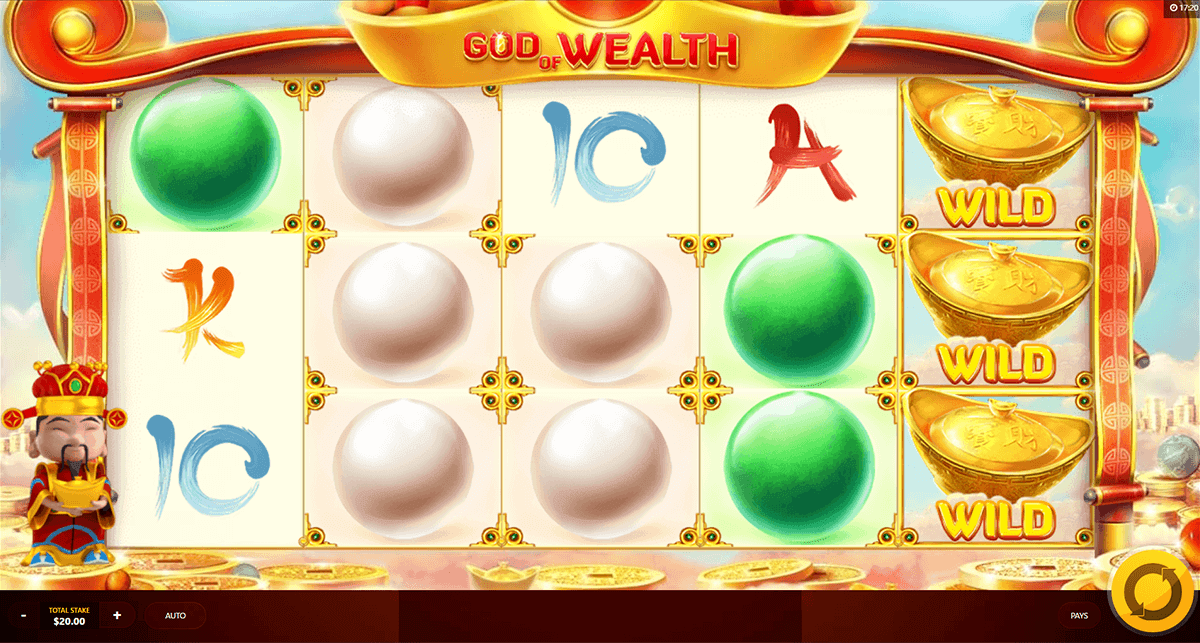 God Of Wealth Slot Machine - Play it For Free Online