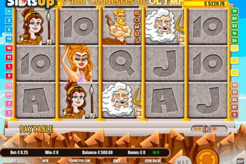 gods and goddesses of olympus portomaso casino slots