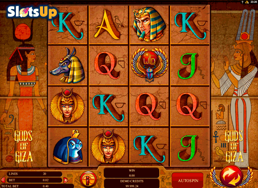 Gods of Giza™ Slot Machine Game to Play Free in Genesis Gamings Online Casinos