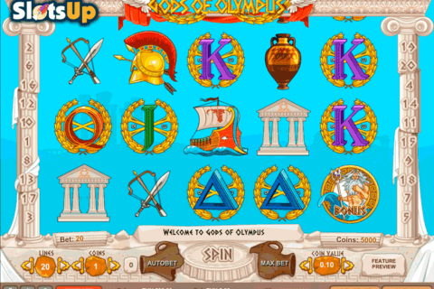 GODS OF OLYMPUS 1X2GAMING CASINO SLOTS