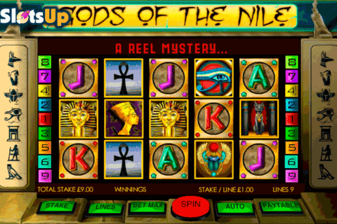 gods of the nile openbet casino slots