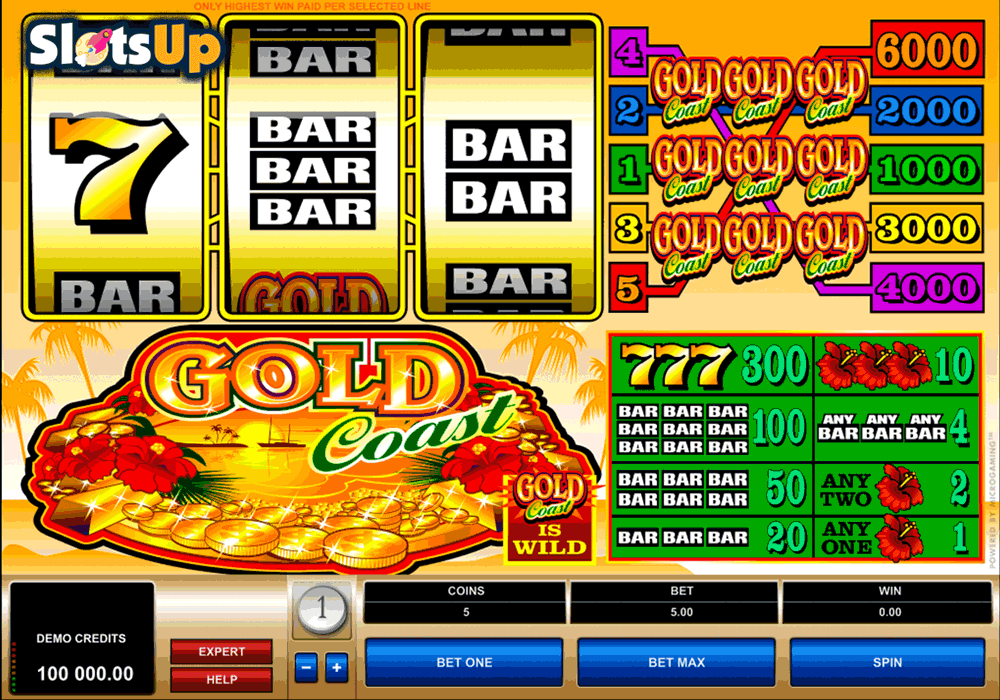 Gold Pays Slot - Play the Free Casino Game Online
