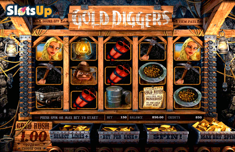 gold diggers betsoft casino slots
