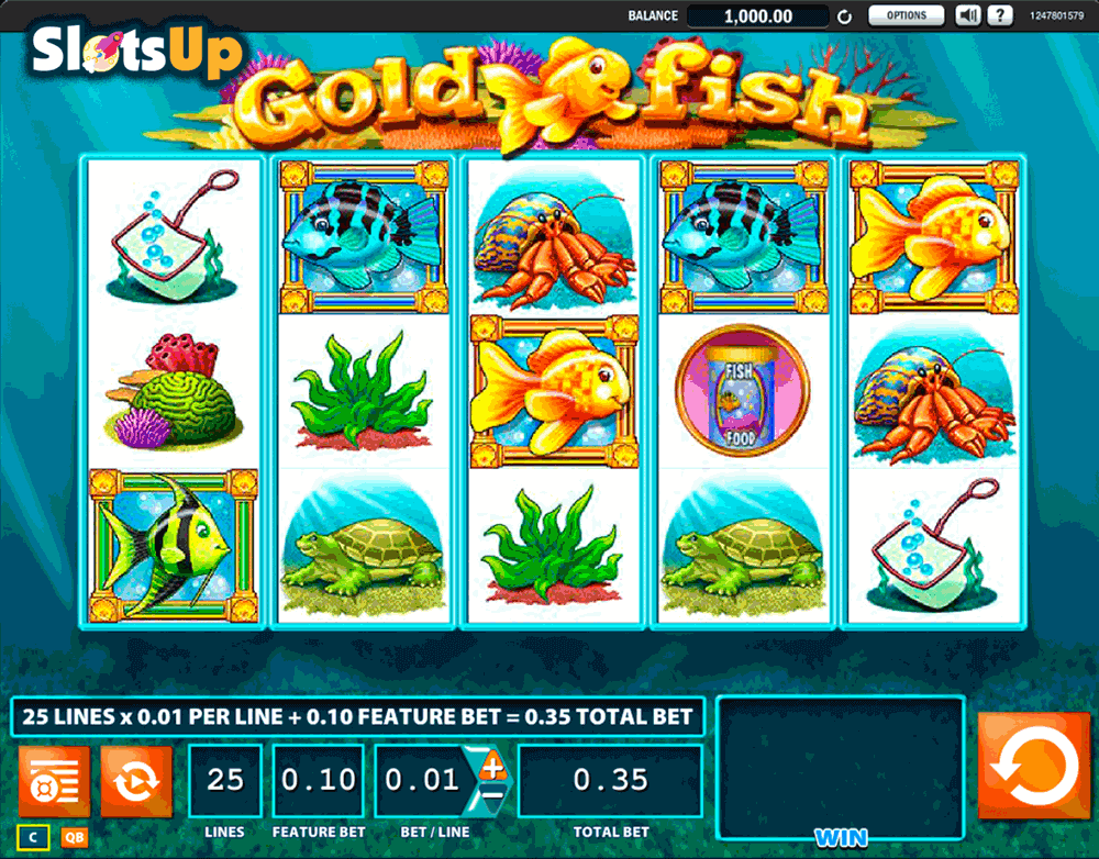 Gold fish slot machine online wms casino slots for Fish casino slot