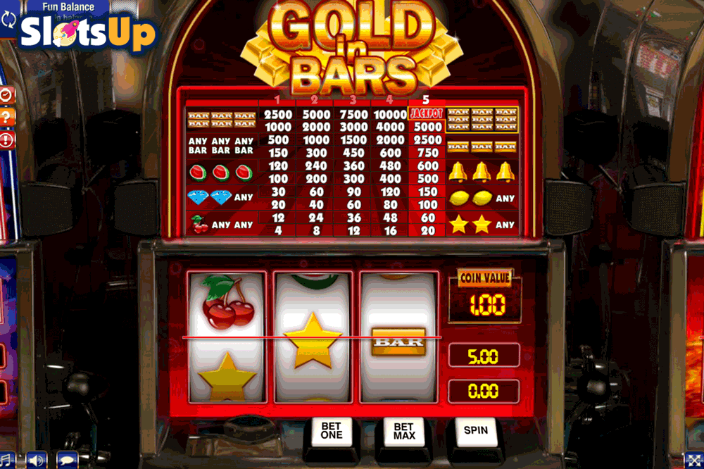 Gold In Bars Slot Machine Online ᐈ GamesOS™ Casino Slots