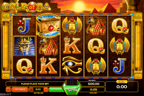 gold of ra gameart slot machine