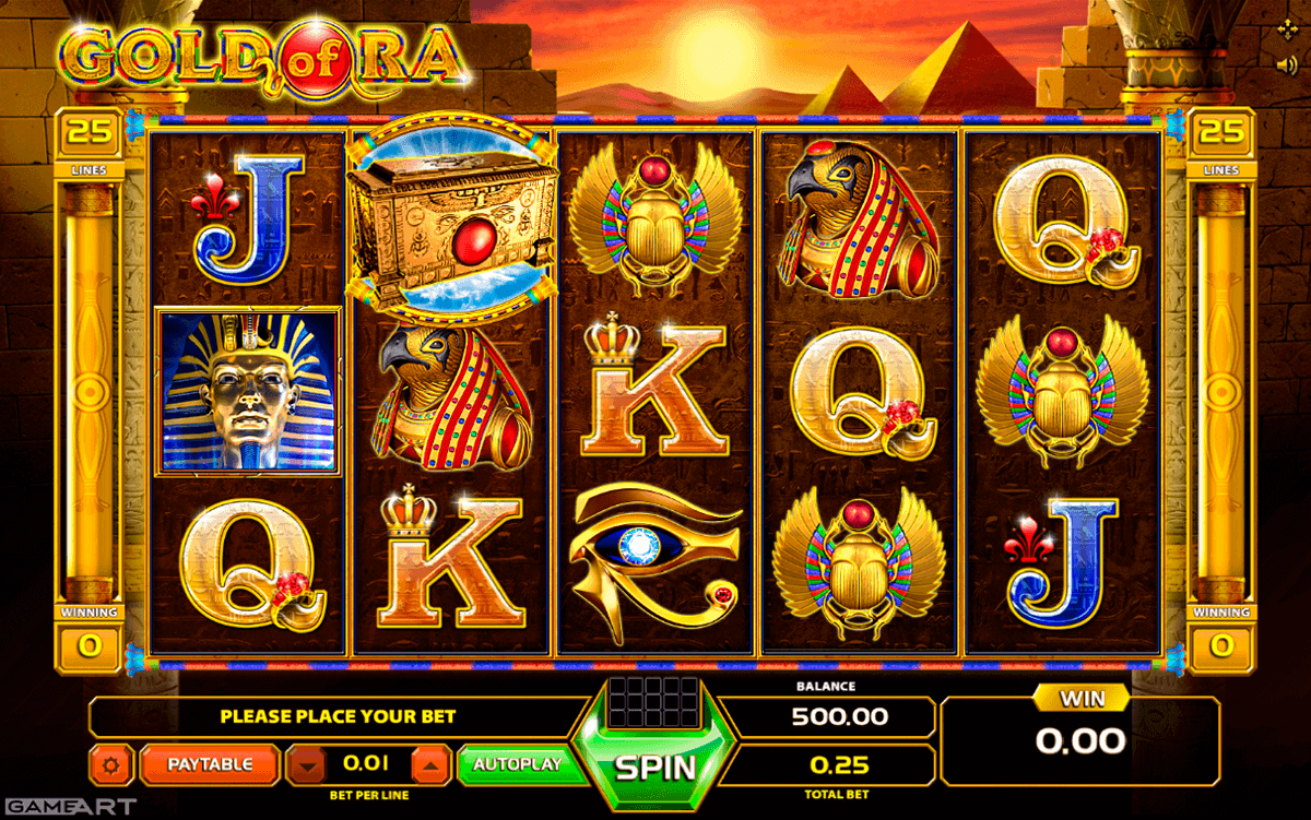 Gold of Egypt Slot Machine - Play for Free Instantly Online