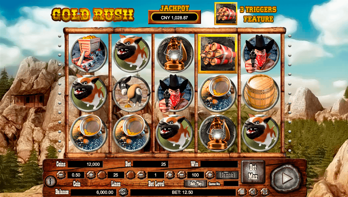 gold rush habanero slot machine