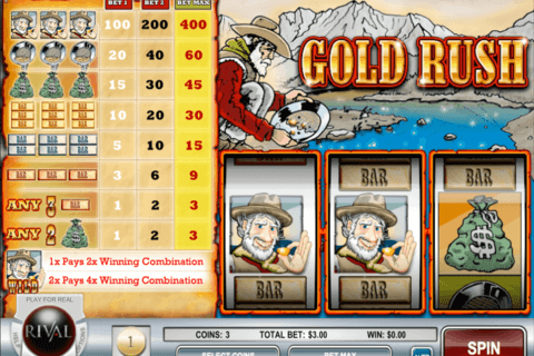 GOLD RUSH RIVAL CASINO SLOTS