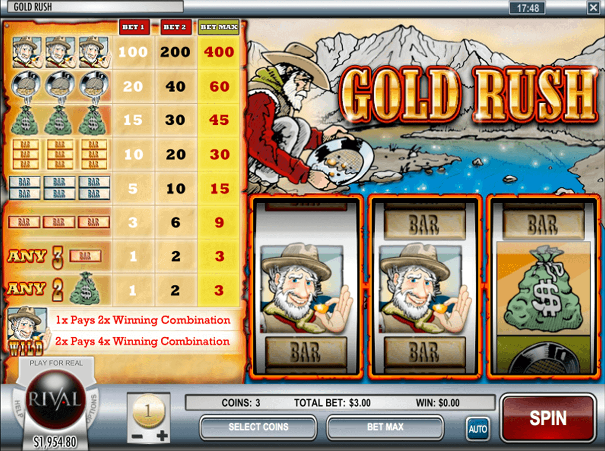 Gold Rush Slot - Play the Playson Casino Game for Free