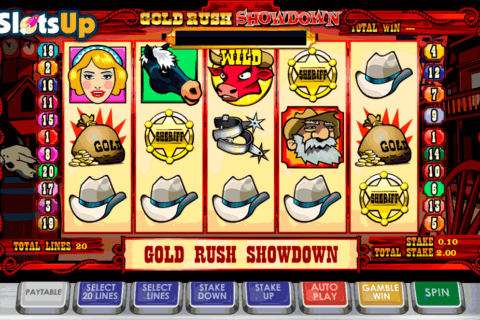 gold rush showdown ash gaming casino slots