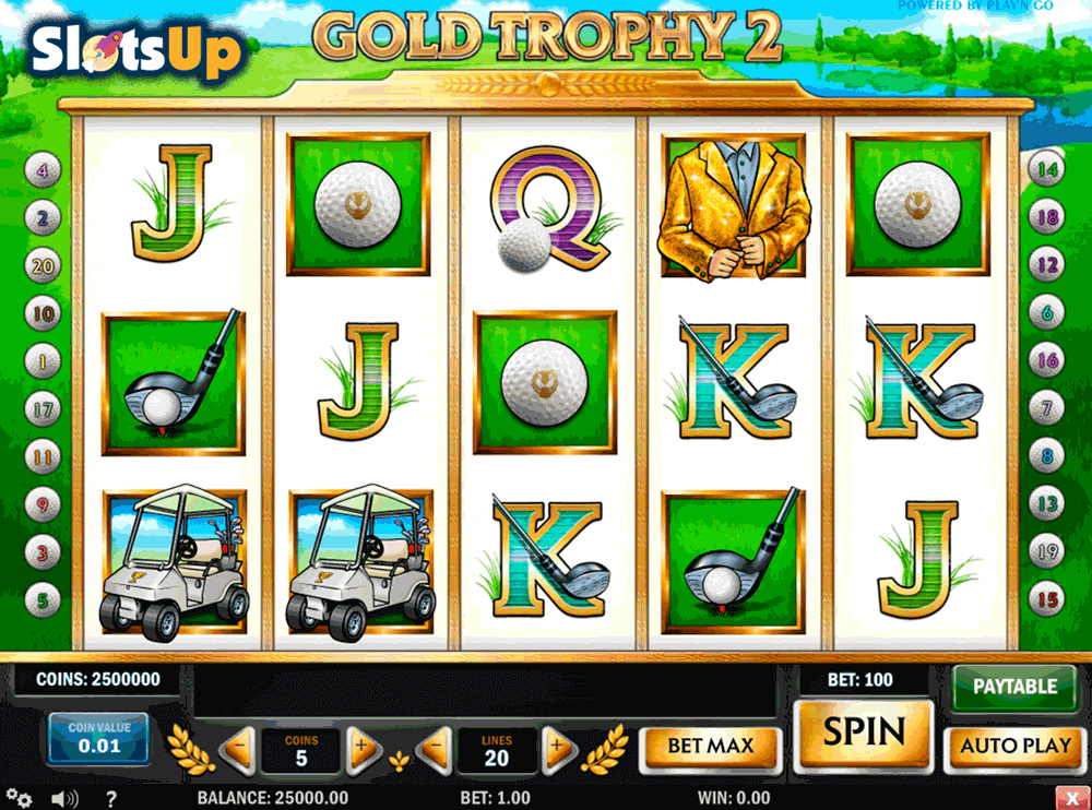Gold Trophy 2™ Slot Machine Game to Play Free in Playn Gos Online Casinos