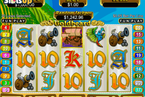 GOLDBEARD RTG CASINO SLOTS