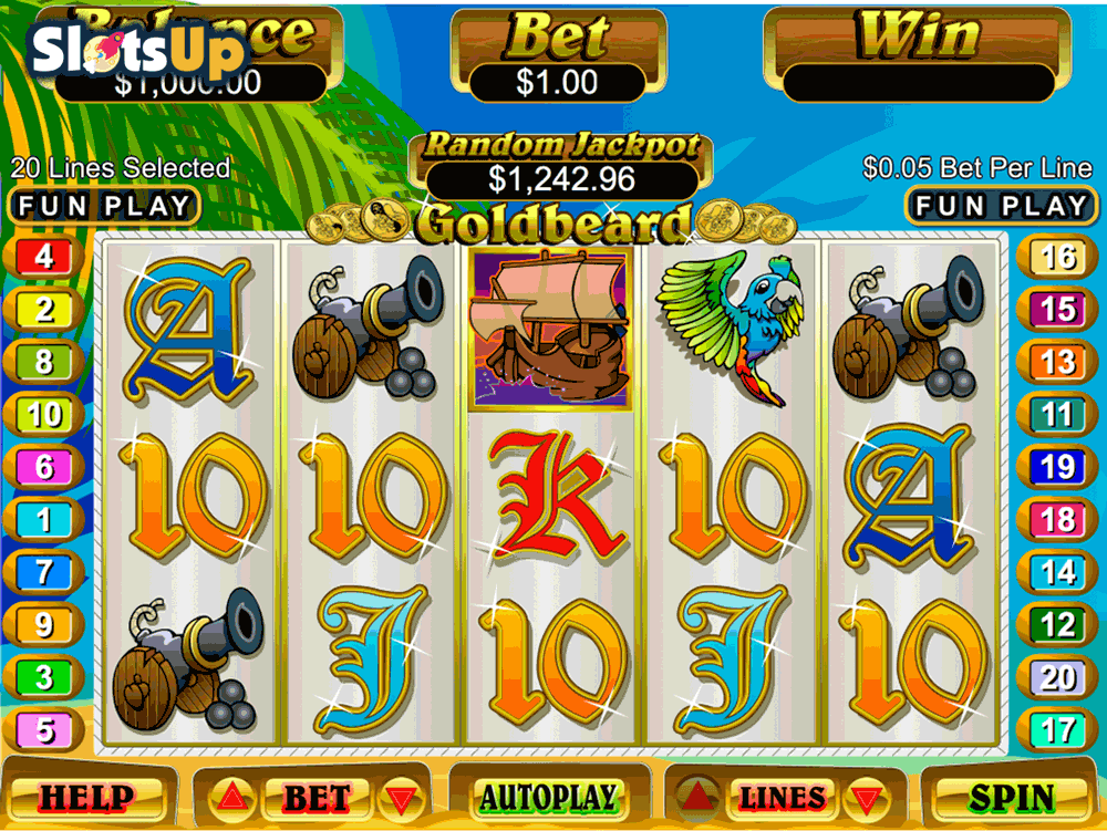 Goldbeard Slots Free Play & Real Money Casinos