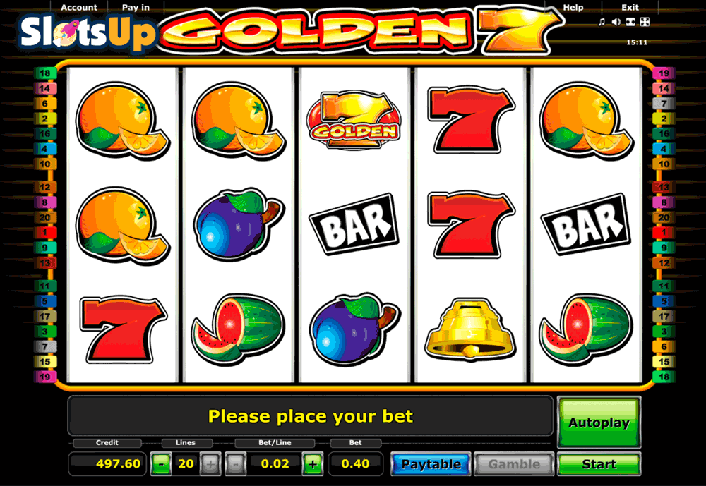 Golden Sevens Slot Machine Online ᐈ Novomatic™ Casino Slots