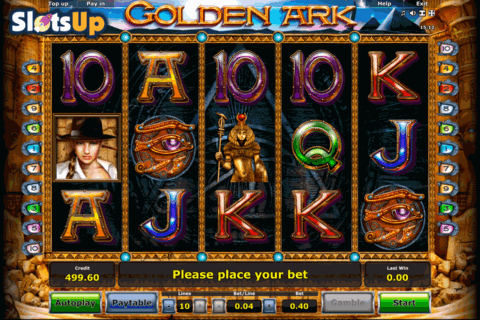 golden ark novomatic casino slots 480x320