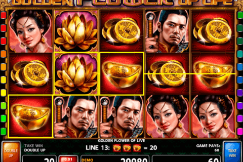 golden flower of life casino technology slot machine