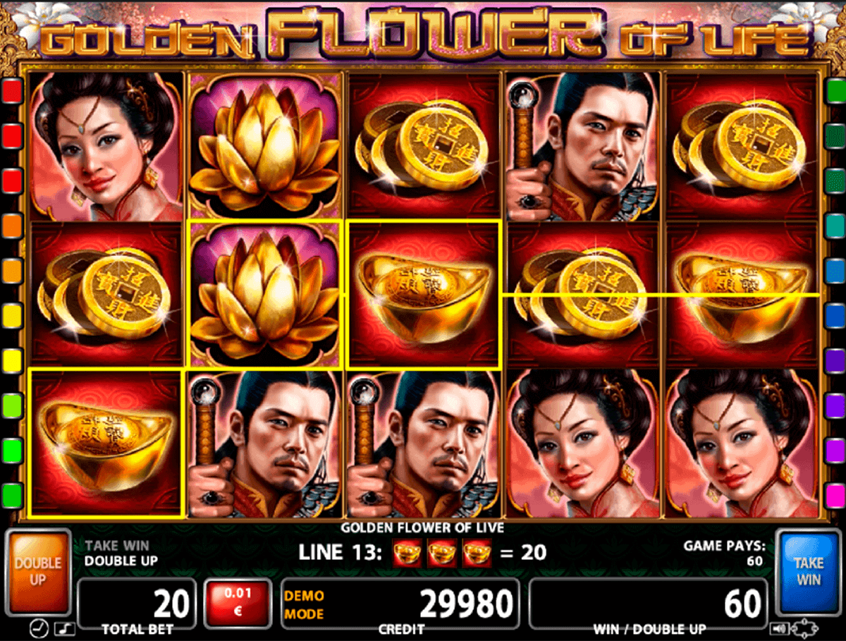 Golden flower of life slot machine online casino technology golden flower of life casino technology slot machine izmirmasajfo