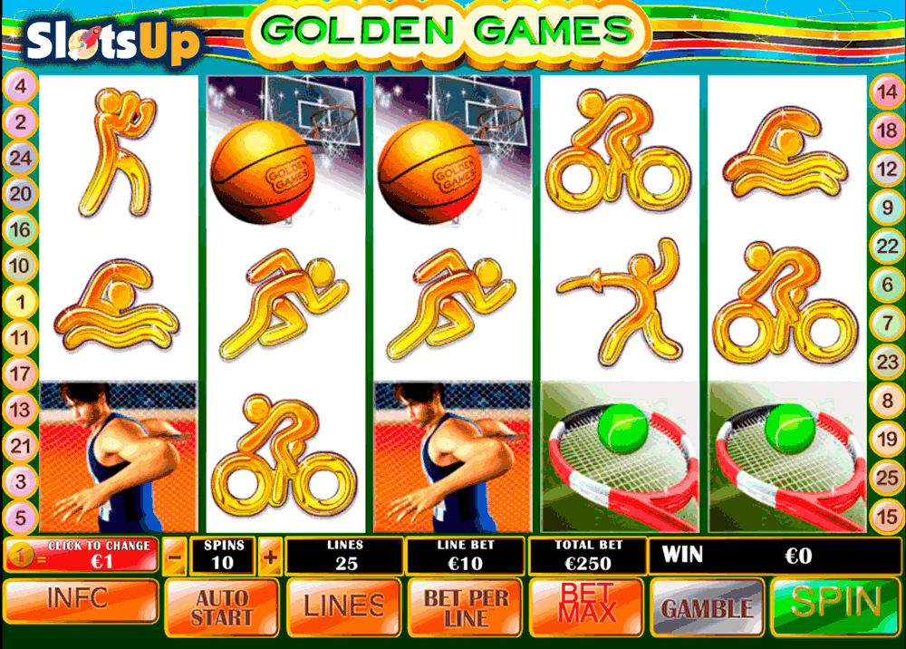 GOLDEN GAMES PLAYTECH CASINO SLOTS