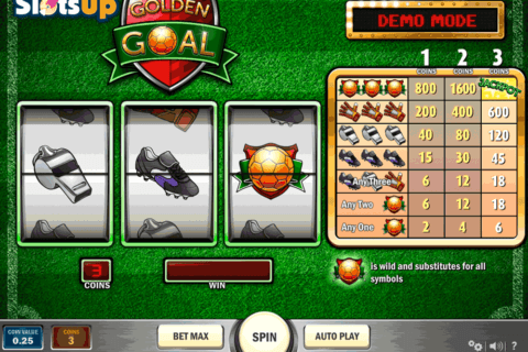 GOLDEN GOAL PLAYN GO CASINO SLOTS