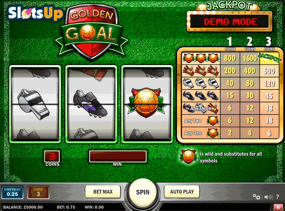 Golden Goal Slot Machine Online ᐈ Playn Go™ Casino Slots