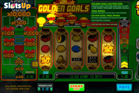 GOLDEN GOALS BIG TIME CASINO SLOTS