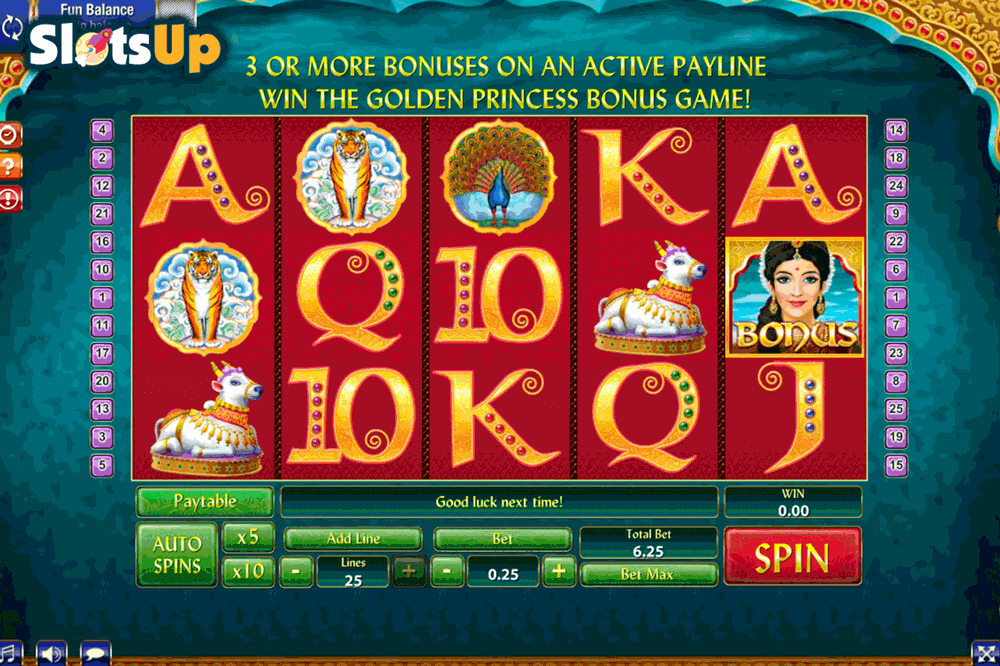 Golden India Slot - Play Free GamesOS Casino Games Online
