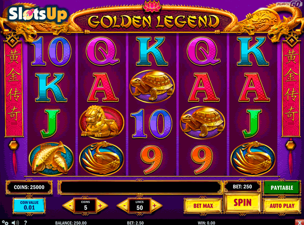 golden legend playn go casino slots