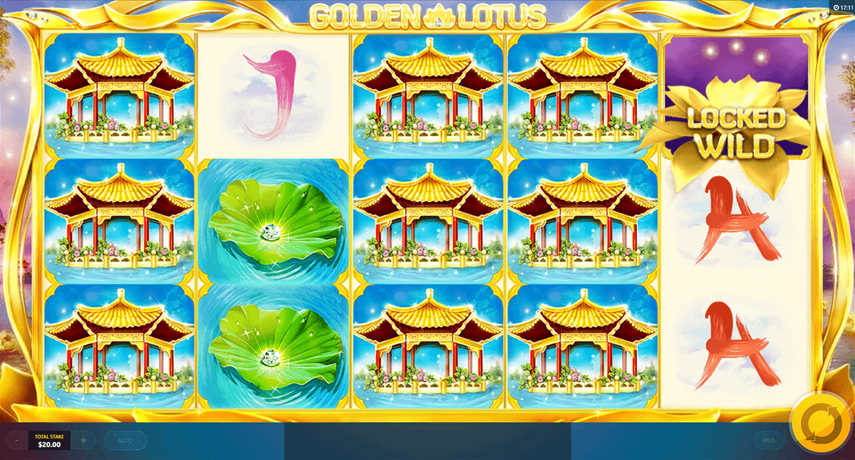 Golden Lotus Slot Machine Online ᐈ Red Tiger Gaming Casino Slots