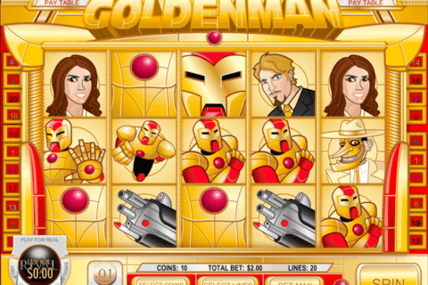 GOLDEN MAN RIVAL CASINO SLOTS