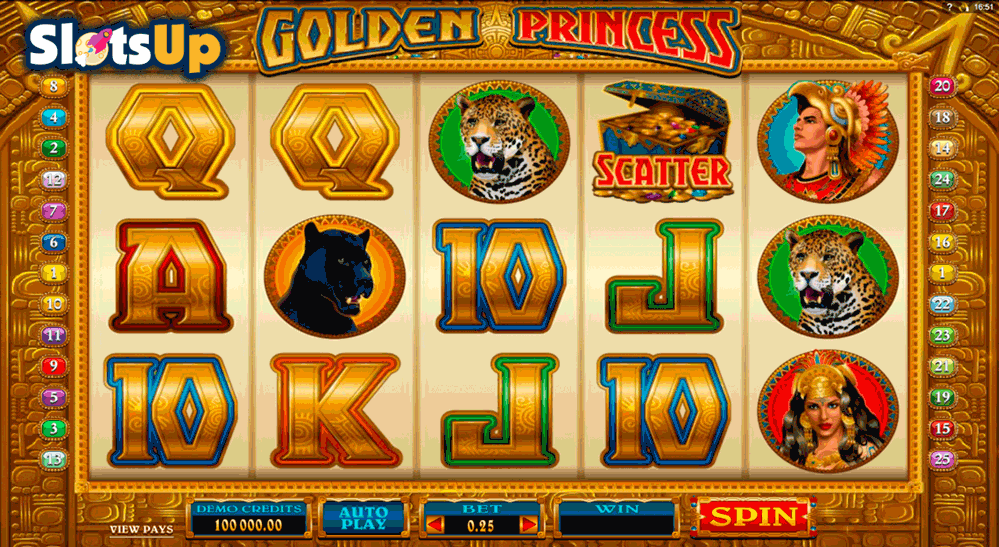 Golden Princess™ Slot Machine Game to Play Free in Microgamings Online Casinos