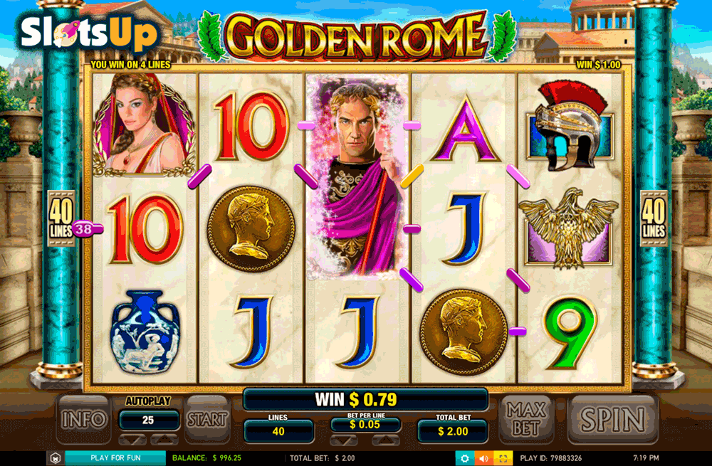 Golden Rome Slot Machine Online ᐈ Leander Games™ Casino Slots