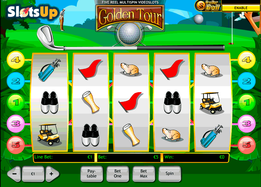 golden tour playtech casino slots