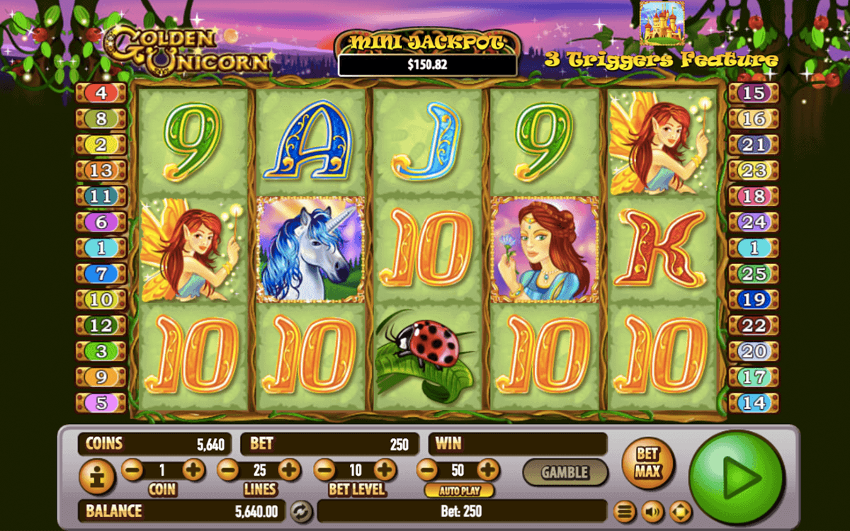 Golden Unicorn Slots - Play this Habanero Casino Game Online
