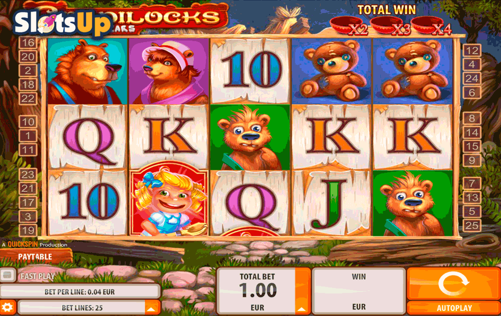 Goldilocks™ Slot Machine Game to Play Free in QuickSpins Online Casinos