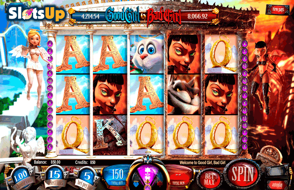 GOOD GIRL BAD GIRL BETSOFT CASINO SLOTS