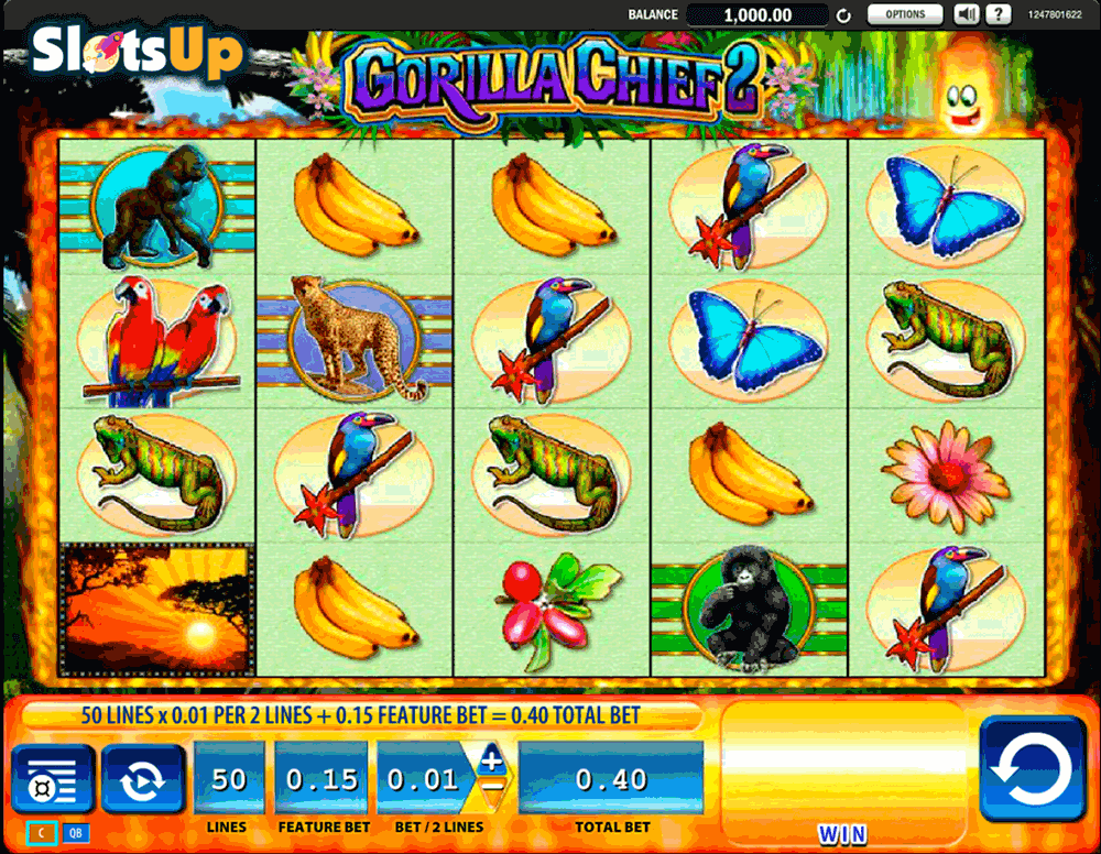 gorilla chief 2 wms casino slots