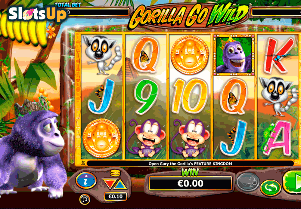 Gorilla Go Wild™ Slot Machine Game to Play Free in NextGen Gamings Online Casinos