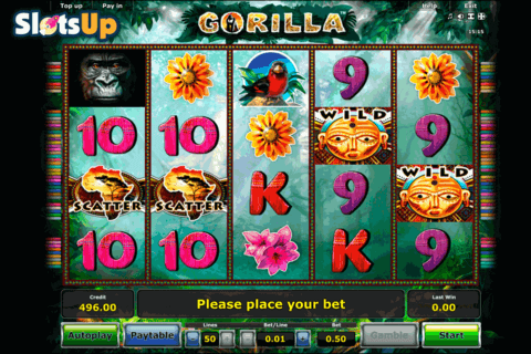 Gorilla Slot Machine by Novomatic - Play for Free Instantly