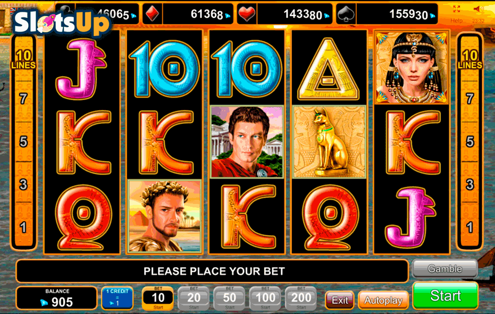 Cleopatra Treasure™ Slot Machine Game to Play Free in iSoftBets Online Casinos