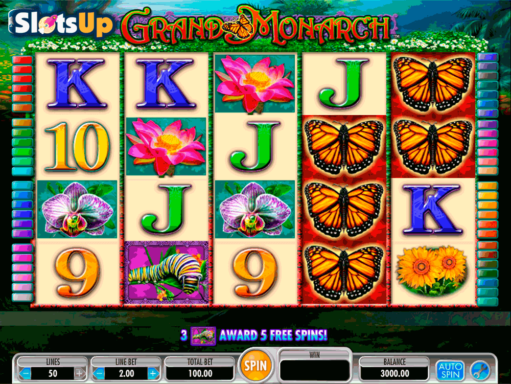 Butterflies Slot Machine - Play this Casino Game for Free