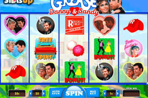 grease danny sandy daub games casino slots