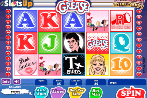 Grease Danny & Sandy Slot Machine – Free Online Demo Game